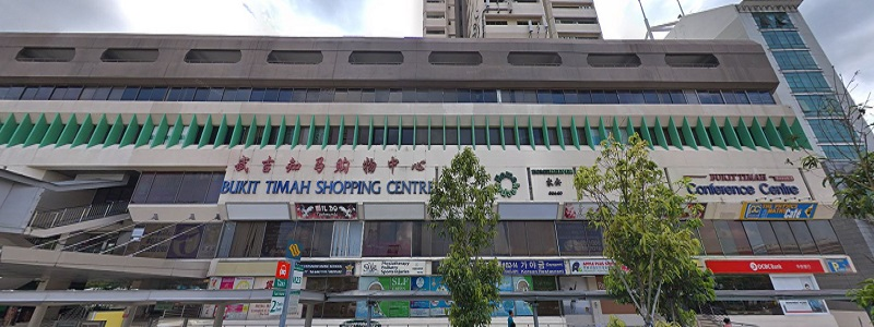 Bukit Timah Shopping Centre Near Forett at Bukit Timah Condo at Toh Tuck Road